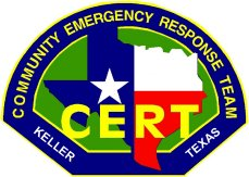 Keller CERT Association Logo